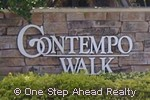sign for Contempo Walk of TownGate