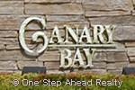 sign for Canary Bay of TownGate